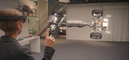 Microsoft HoloLens Volvo